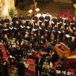 Foto utrinki s koncerta Baročnega orkestra in zbora s solisti AG v Ljubljani