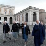 Svetoletno romanje naših novink v Rimu