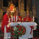Obisk nuncija na praznik sv. Uršule
