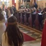 Igra učencev Ljudske šole sv. Uršule v Celovcu
