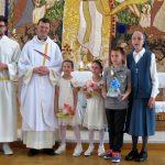 Slovesnost prvega sv. obhajila otrok iz Cirius-a