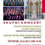Skupni koncert zborovskega petja