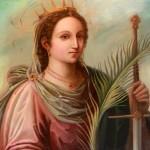 Sv. Katarina Aleksandrijska in uršulinke